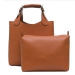 [ Pre-Order ] - กระเป๋าแฟชั่น สีน้ำตาล สไตล์แบรนด์ ZARA ทรง Shopping Bag ใบใหญ่ ดีไซน์เรียบหรู โดดเด่นไม่ซ้ำใคร งานสวยเนี๊ยบค่ะ