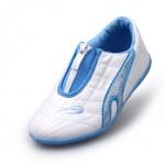 รองเท้ากีฬาเด็ก ทรงเท่ สีฟ้าขาว Size 26-34