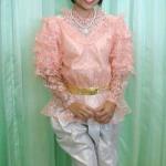 ชุดไทยเด็กหญิง ร.5 แขนหมูแฮม มีหลายสี