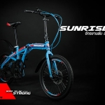 """จักรยานพับ MAXIMUS รุ่น SUNRISE-D 20"""""""
