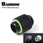 Barrow Male to Male Rotary TBX2D-02