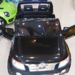 DK3646BK รถแบตเตอรี่เด็กนั่งไฟฟ้า Ford Ranger 2มอเตอร์ สีดำ