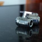 Ball valve Bykski สีMetallic