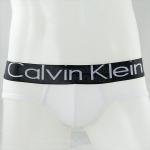 กางเกงในชาย Calvin Klein Briefs : สีขาว ขอบดำ