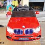 LN3344 รถแบตเตอรี่เด็กนั่งไฟฟ้า ยี่ห้อ BMW-X5 มี 2 สี แดง ขาว