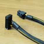 สายแปลง Sata to 6pin VGA 30cmสายถัก