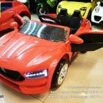 LN1778R รถแบตเตอรี่เด็กนั่งไฟฟ้า ยี่ห้อ BMW สีแดง 2มอเตอร์