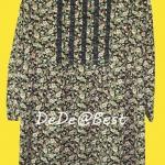ขายแล้วค่ะ D28:Vintage dress เดรสวินเทจผ้าซีฟองลายดอกไม้พร้อมผ้าผูกเอว&#x2764