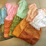 ชุดไทยเด็กหญิง มีหลายสี 3-7 ขวบ
