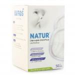 แผ่นซับน้ำนมแม่ (แบบกระชับ) Natur 50 ชิ้น