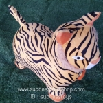 ตุ๊กตาสัตว์ยางเด้งดึ๋งลายเสือ(แบบผ้าถอดซักได้)