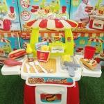 ช๊อปฟาดส์ฟูดส์เล็ก Mini Fast Food Shop (23ชิ้น)