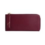 [ Pre-Order ] - กระเป๋าสตางค์แฟชั่น สีไวน์แดงเข้ม ซิปรอบปิดตัว L ใบยาว ดีไซน์สวยคลาสสิค ช่องเยอะ งานสวย น่าใช้มากๆค่ะ