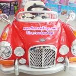 รถแบตเตอรี่เด็กนั่ง รุ่น LN128 รถโบราณคลาสสิค 2M สีแดง