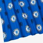 ผ้าม่านลายเชลซี Chelsea FC 183cm approx. Repeat Crest Curtains ของแท้
