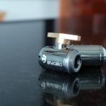 Ball valve Bykski สีทอง