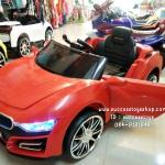 3181R รถแบตเตอรี่ไฟฟ้า BMW I8 2 มอเตอร์ สีแดง