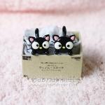 ต่างหูดินปั้น แมว Baby choco cat