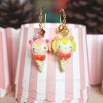 ต่างหูไอศครีม เซเลอร์มูน Sailor moon Ice-cream