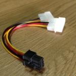 สายแปลง Molex To 6 Pin VGA