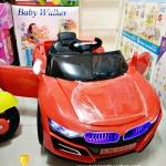 รถ BMW 2มอเตอร์ สีแดง