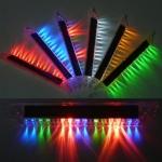 ไฟ LED แผงโซล่ารับแสงแดด แบบดูดกระจก ยาว 21 cm