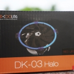 ID-Cooling DK-03 HALO AMD (Red)