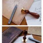 Stamp Postcard Set ชุดสแตมป์ Twilight กล่องไม้