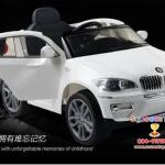 JJ258W รถแบตเตอรี่ ยี่ห้อ BMW-X6 (ลิขสิทธิ์แท้) มี 4 สี ขาว ดำ แดง น้ำเงิน