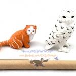 ตุ๊กตุ่นตั้งโชว์ / ทับกระดาษเฮ็ดวิก + ครุกแชงก์