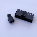 Connector 20+4 Pin สีดำ jmt.