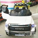 JJ2266W รถแบตเตอรี่ไฟฟ้า TOYOTA TUNDRA สีขาว (ลิขสิทธิ์แท้)