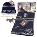 หมวก + ผ้าพันคอ Ravenclaw