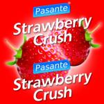 Pasante Strawberry Crush Condoms:ถุงยางอนามัยยี่ห้อ Pasante กลิ่น สตรอเบอร์รี่