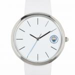 นาฬิกาข้อมือแมนเชสเตอร์ ซิตี้ของแท้ Manchester City Leather Strap Watch Ladies