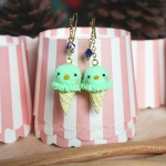 ต่างหู Sumikko Gurashi Ice-cream (Penguin)
