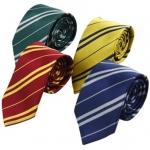 เนคไทไม่มีโลโก้ (มี 4 สี 4 บ้าน) - Harry Potter Tie