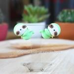 ต่างหูสล็อธเกาะหู Greeny Sloth