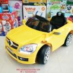 BJ3170Y รถแบตเตอรี่เด็กนั่งไฟฟ้า ยี่ห้อเบนซ์ มี4สี แดง เหลือง เขียว ขาว