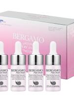 **หมดจ้า** Bergamo Pure Snail Brightening Ampoule Set (แบบกล่อง 4 ขวด)
