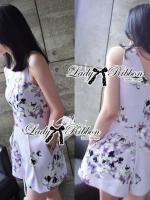 (7)Lady Elie Sweet Candy Pastel Floral Print Jumpsuit