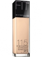 Maybelline - Fit Me Liquid SPF 18 Foundation Matches #No.115