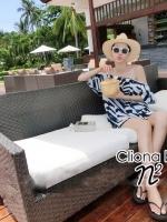 Cliona made, N2 Blue Ocean Casual Dress