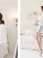 White Lily Lace Cover Suit