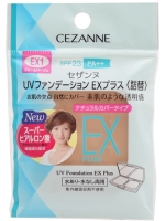 Cezanne - UV Foundation EX Plus SPF 23 PA++ (Refill) #No.EX2