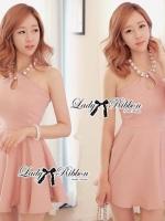 Lady Ribbon's Made Lady Taylor Allure Elegant Pearl Mini Dress