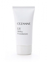 Cezanne UV Milky Foundation SPF17 PA++ # No.10 Bright Ochre