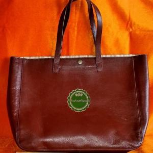 ขายแล้วค่ะ B43:2nd hand leather bag กระเป๋าสะพายหนังแท้&#x2764