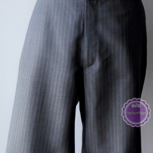 P11:2nd hand pants กางเกงขาสั้นโทนสีเทาอ่อน