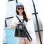 [ ลดราคา ] - กระเป๋าเป้แฟชั่น สไตล์เกาหลี สีดำคลาสสิค ปักหมุด X เก๋ ดีไซน์สวยเท่ๆ เหมาะสำหรับสาวๆ ที่ชอบเป้ใบกลางๆ เท่ๆ โดดเด่นไม่ซ้ำใคร thumbnail 10